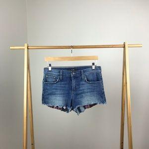 Joe's Jeans • Cutoff Shorts Roxy Striped Pockets